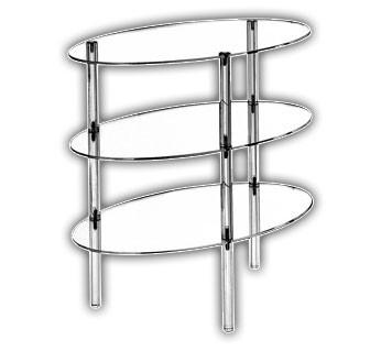 Oval Shelf Unit