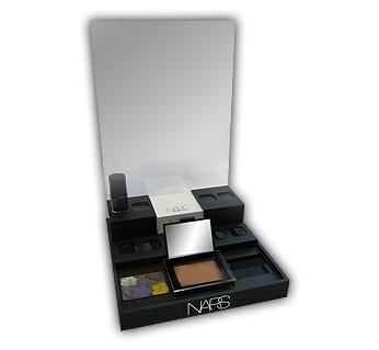 Lipstick and Makeup Display