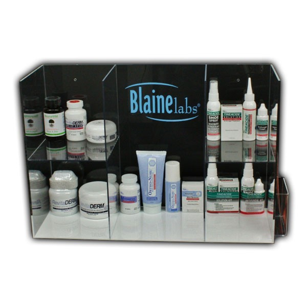 Custom Shelf Display for Blaine Medical Supplies