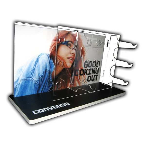 Converse Acrylic Hook Shelf