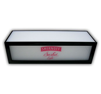 Smirnoff Sorbet Light Illuminated Base