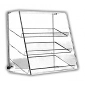 Slanted-Front Three-Shelf Cases