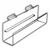 Angled-Bottom J-Shelves