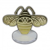 Custom Bee Shaped Award