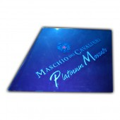 Etched Acrylic Mirror Sign