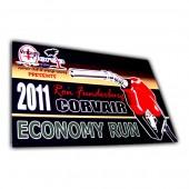 Custom Aluminum Sign Card