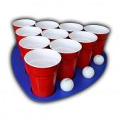 Pool Rack Cup Holder