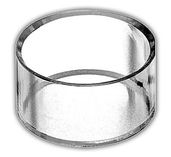 Handmade Acrylic Rings with Bevel