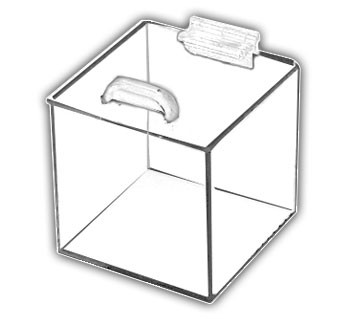 Square Box with Hinged Lid