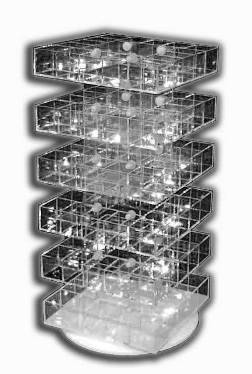 Multi-Story Display Bins