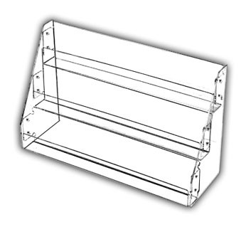 Tilted-Rack Card Displays