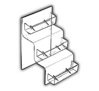 Stairstep Multi-Pocket Card Holders