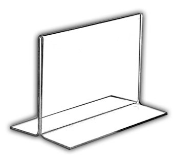 Side-Loading Vertical Acrylic Frames