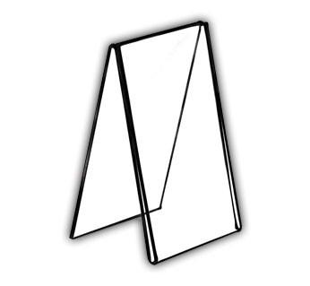 Tent-Style Acrylic Frames