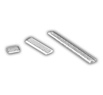 Clear Economy Sign Clips with Adhesive