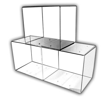 Stackable Display Bins
