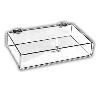 Locking Top-Opening Tray Cases