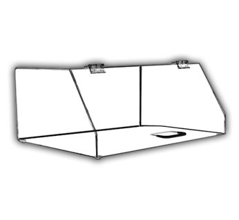 Angled-Front Single-Tray Cabinet