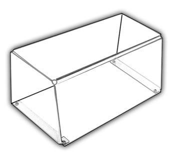 Open-Bottom Tray/Plate Guard