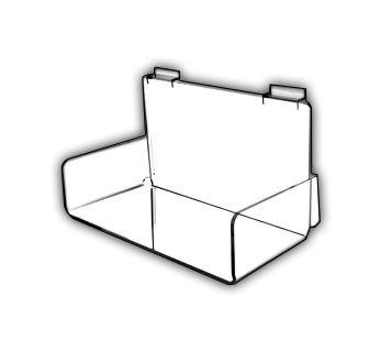 Braced Angled Shelves