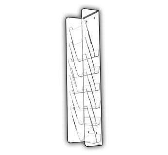 Long Vertical Multi-Pocket Displays