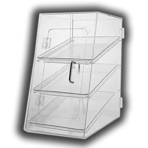 Three-Tray Angled-Front Cabinet