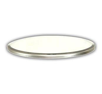 Oval Base Beveled