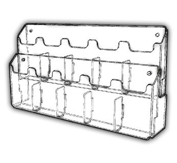 Double-Deep Multi-Pocket Wall Mounting