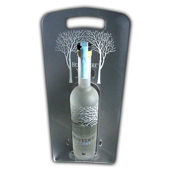 Belvedere Single Bottle Display