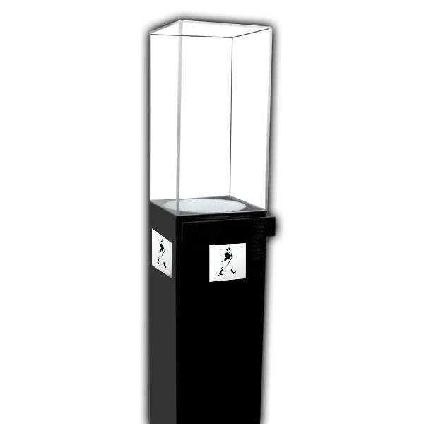 Custom Pedestal Display Case