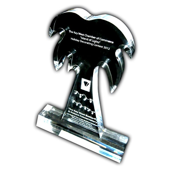 Engraved Palm Tree Award