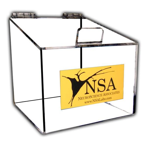 Custom Display Case with Screen Printing