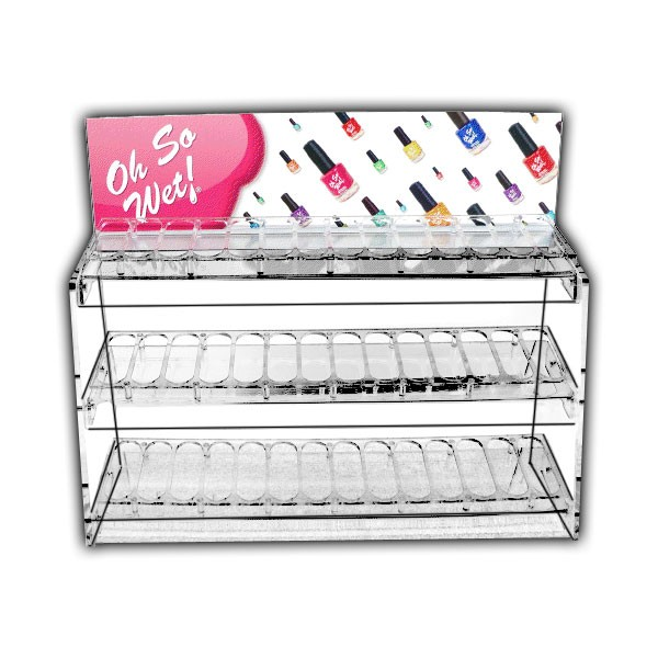 """""""Oh So Wet!""""® Cosmetic Display"""