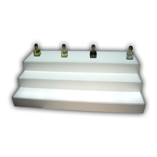 Lighted Double-Sided Step Riser