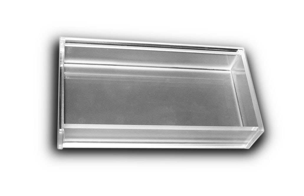 Frosted 1/4 Tray