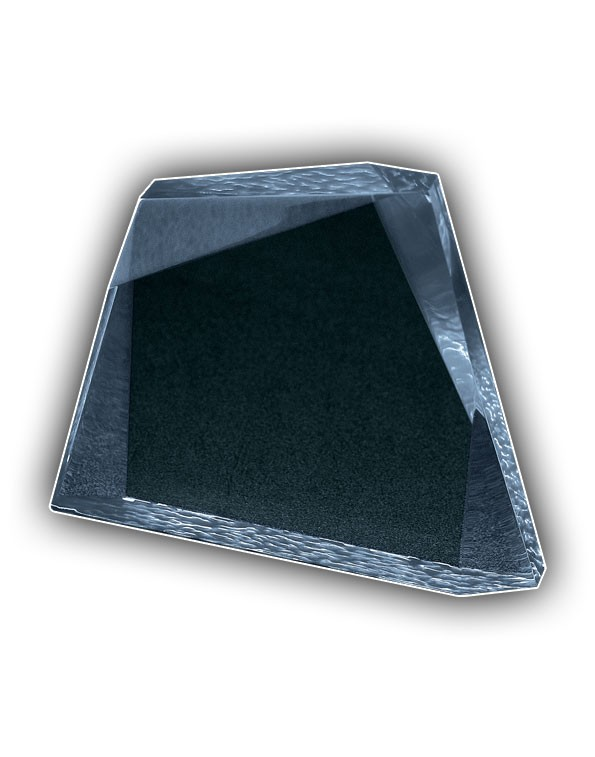 Faceted Wedge