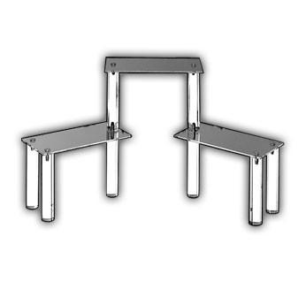 Rectangular Three Shelf Display