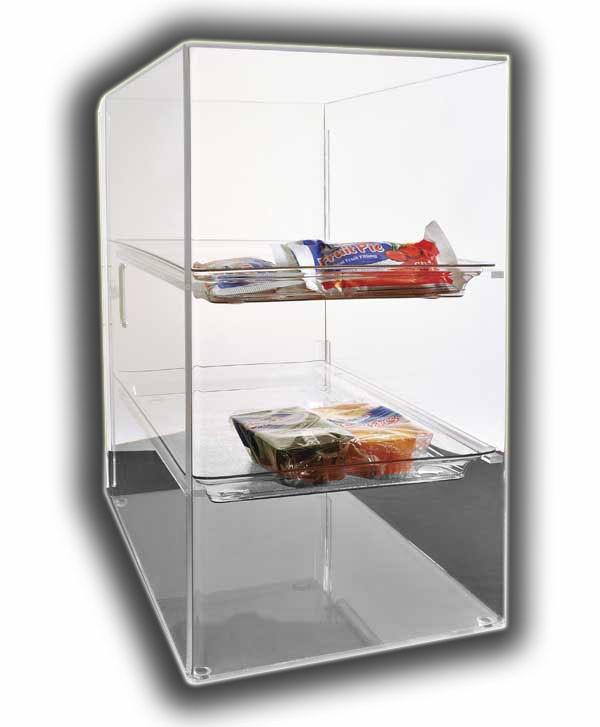 Straight Shelf Three-Tray Cabinets
