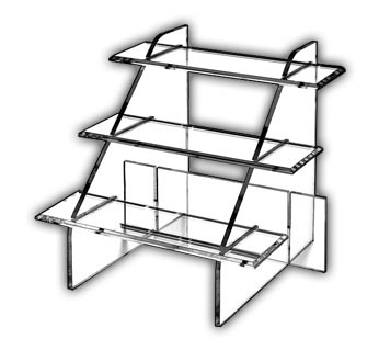 Interlocking Stair Display