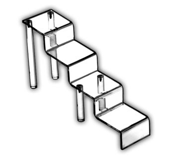 Large Four Step Stairs