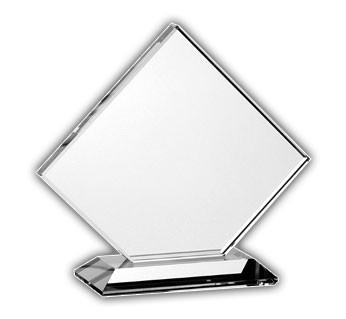 Wide Beveled Square Award