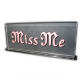 Miss Me Frosted Display